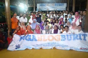 ngablogburit AQUA klaten, LBI2015, liga blogger indonesia, edisipertama