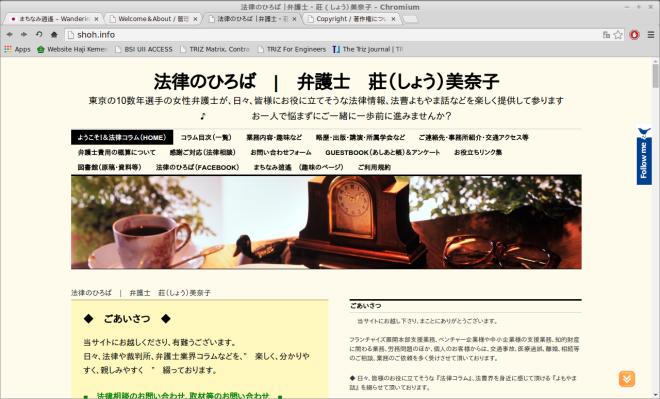 Personal Blog Minako Shoh