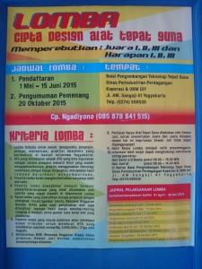 Lomba TTG Pameran Potensi Daerah Sleman 2015
