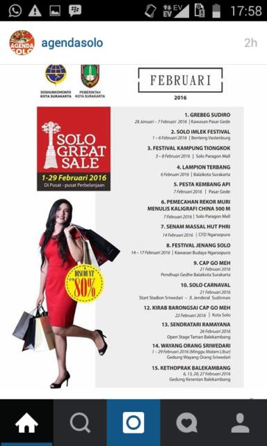 agenda solo februari